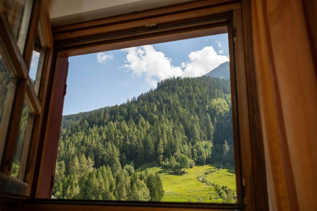 Ausblick aus dem Zimmer