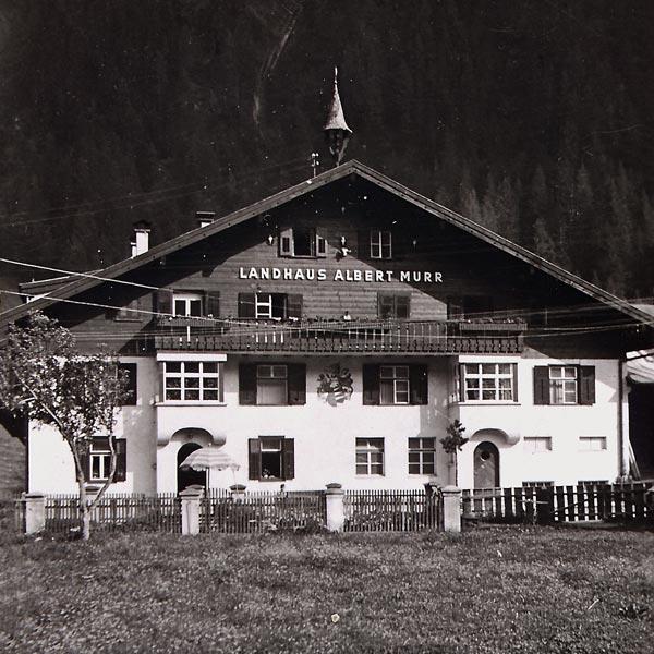 altes Foto von Landhaus Albert Murr